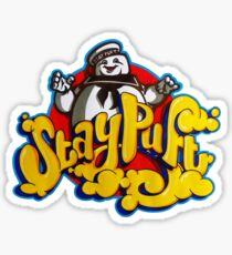 Stay Puft Marshmallow Man Logo - Graffiti Sticker