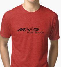 MX-5 Hair Salon Tri-blend T-Shirt
