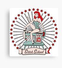 Scarlett's Stitch School (without the 'Scarlett') Canvas Print