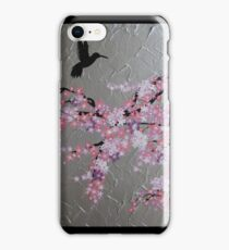 blossom with hummingbird iPhone Case/Skin