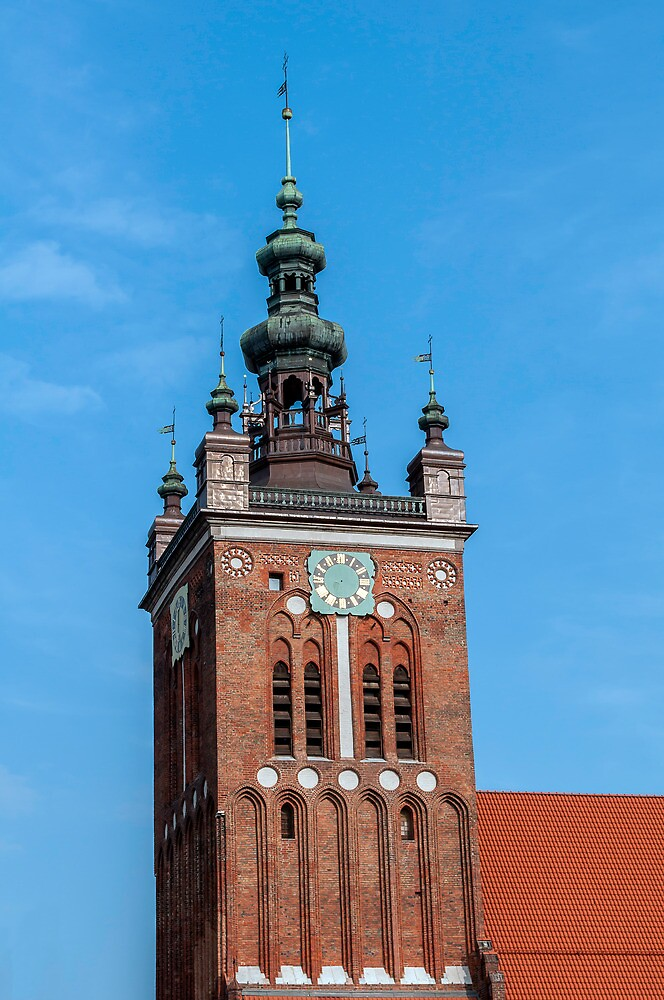 Clock Tower, Gdansk, Poland. by FER737NG