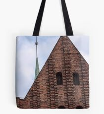Medieval castle. Tote Bag