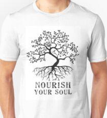 """""""Nourish Your Soul"""" Unisex T-Shirt"""