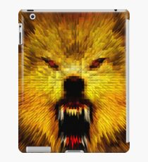 ANGRY WOLF iPad Case/Skin