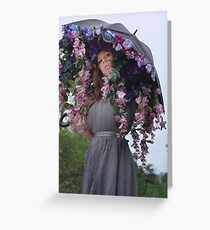 Efflorescence  Greeting Card