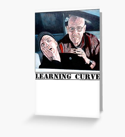 Learning Curve Greeting Card