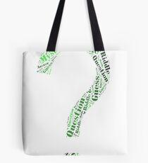 Riddler Wordart Tote Bag