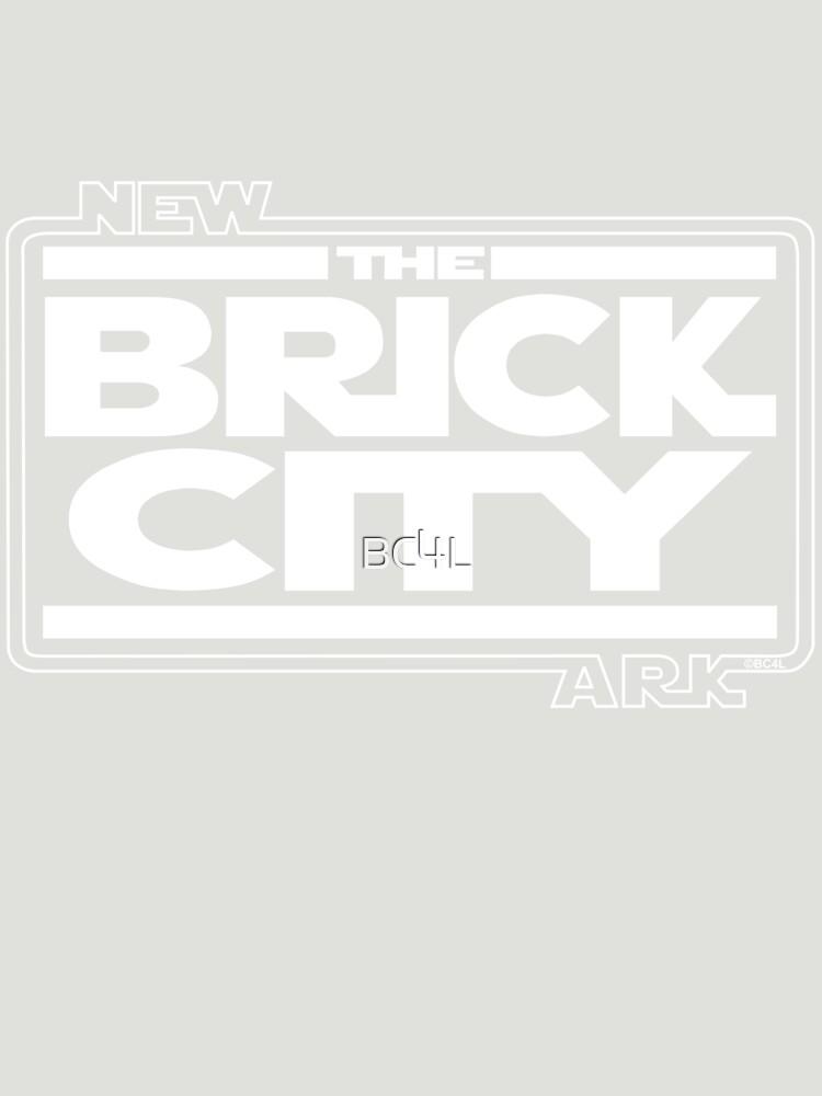 'Brick Wars' (wht) by BC4L