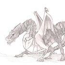 Blood Dragon by bluemagic
