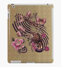 Tattoo styled koi fish art iPad Case/Skin