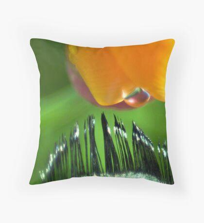 Kiss of Inspiration Throw Pillow