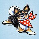 Chihuahua Mama's Boy Off-Leash Art™ by offleashart