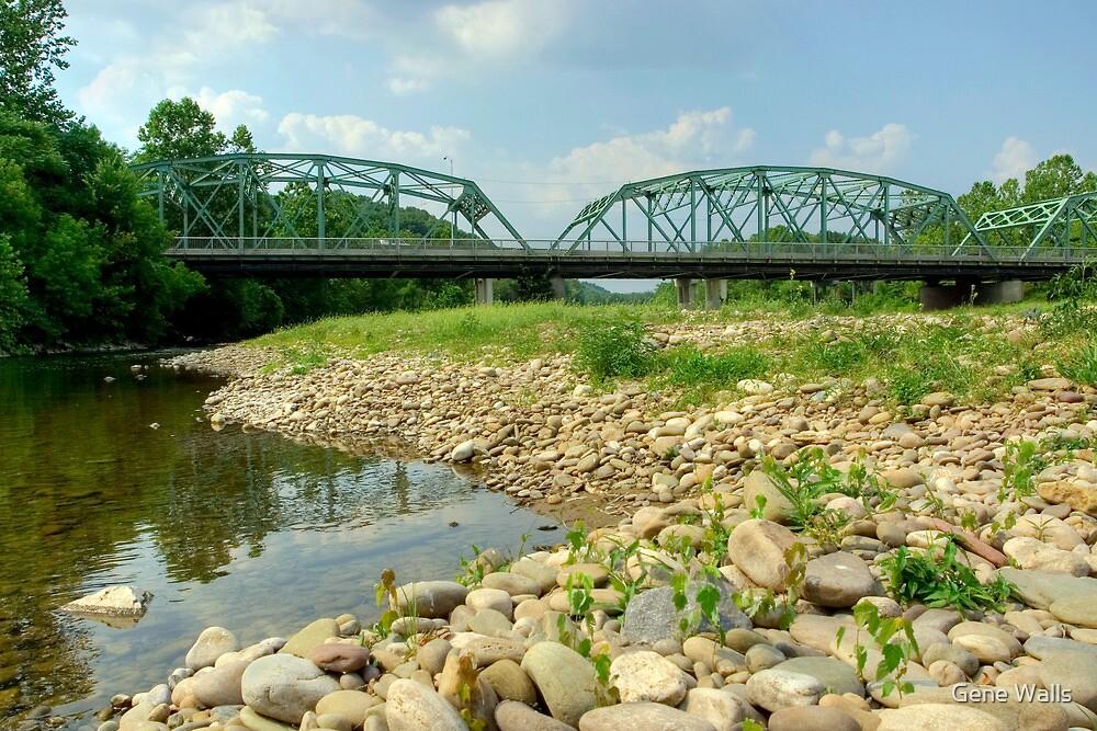 Old Montoursville Iron Bridge by Gene Walls