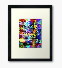 Vivid colour of summer Framed Print