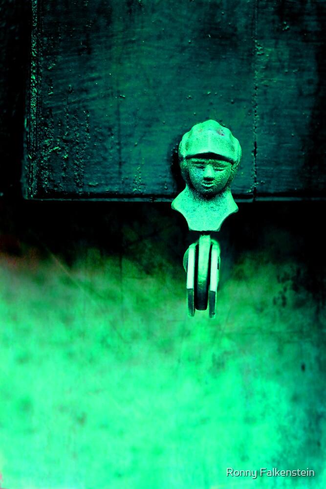 The head of a woman by Ronny Falkenstein