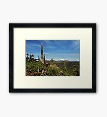 Mount Lassen From A Distance Framed Print