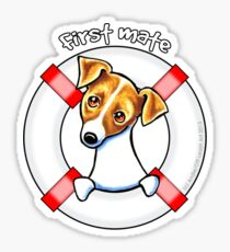 Jack Russell :: First Mate Sticker