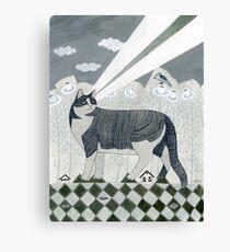 Beaming Cat Canvas Print