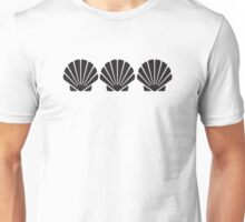3 Sea Shells Unisex T-Shirt