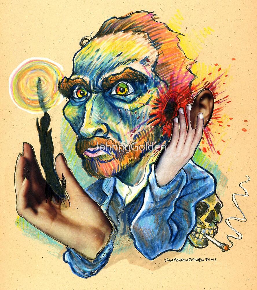 Van Gogh Caricature by JohnnyGolden