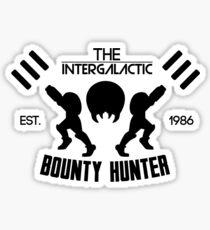 The Intergalactic Bounty Hunter Sticker