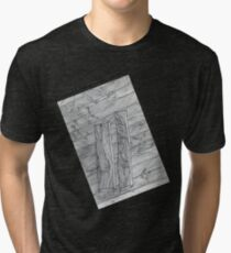 Wood Flooring... a doodle! Tri-blend T-Shirt