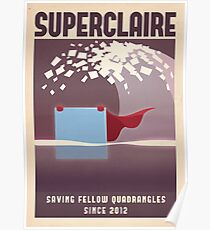 SUPERCLAIRE - Thomas Was Alone Poster