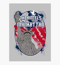 the angels take Manhattan Photographic Print