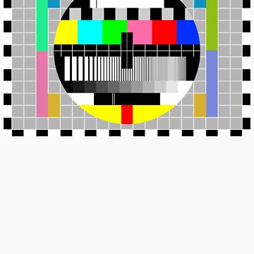 Television Test Pattern by tees4u
