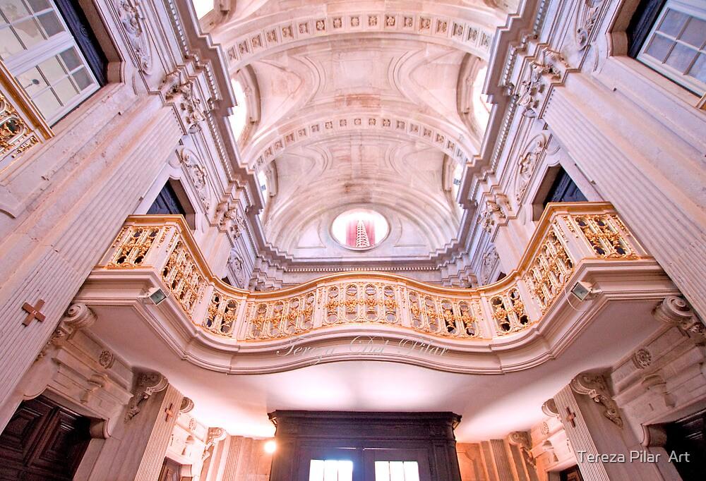 coro alto. Igreja da Memória. by terezadelpilar ~ art & architecture