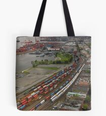 Vancouver Downtown East Side From Above Tote Bag