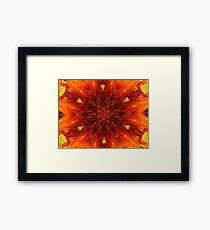 Center of the Earth Framed Print