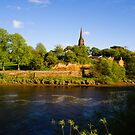 St Mary's Outside the Walls Chester by mlphoto
