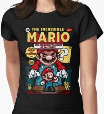 Incredible Mario Women's Fitted T-Shirt