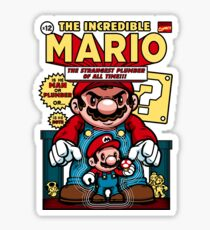 Incredible Mario Sticker