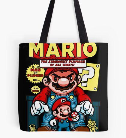 Incredible Mario Tote Bag