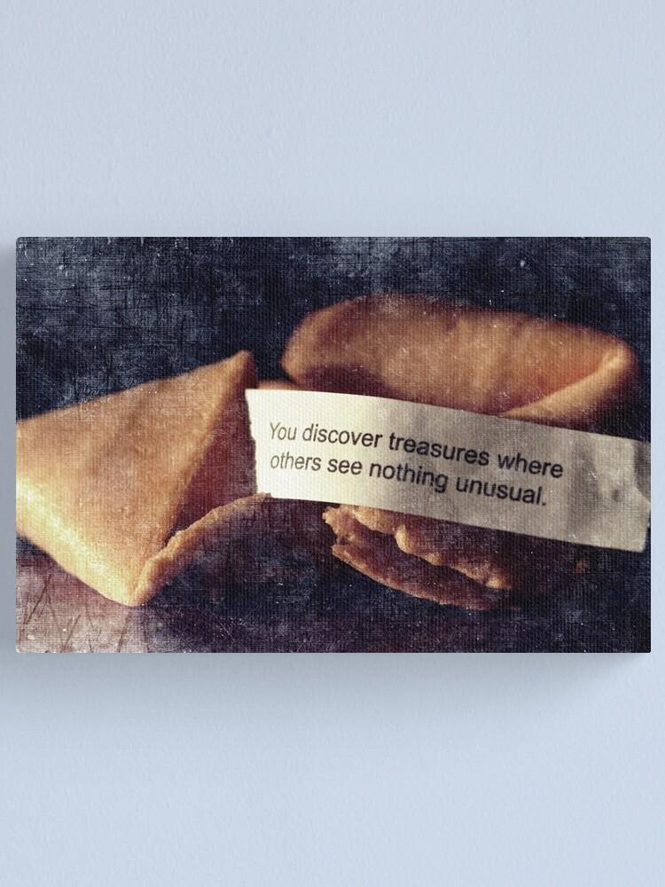 Alternate view of Confucius Say.... Canvas Print