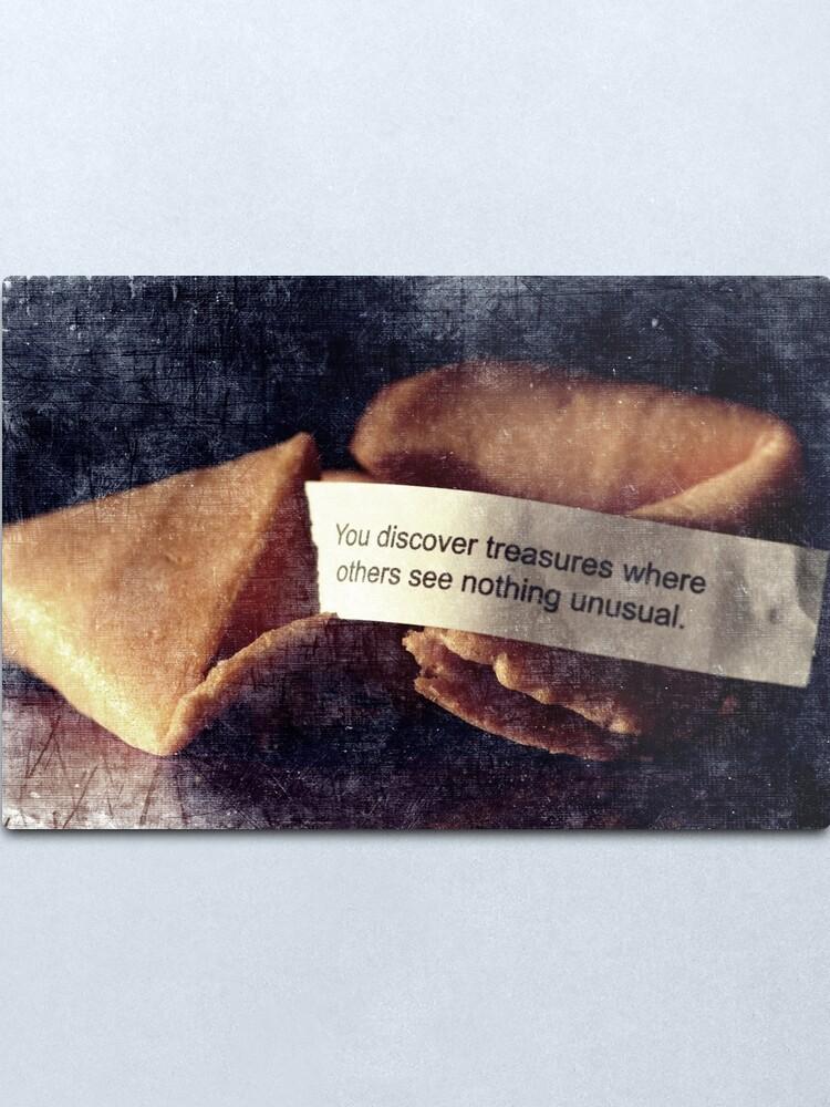 Alternate view of Confucius Say.... Metal Print