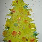 Aussie Christmas by dkatiepowellart