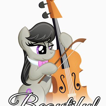 Beautiful Octavia Tshirt (My Little Pony: Friendship is Magic) by broniesunite