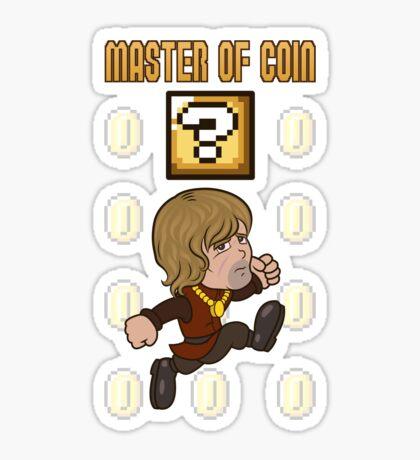 Master of Coin Sticker