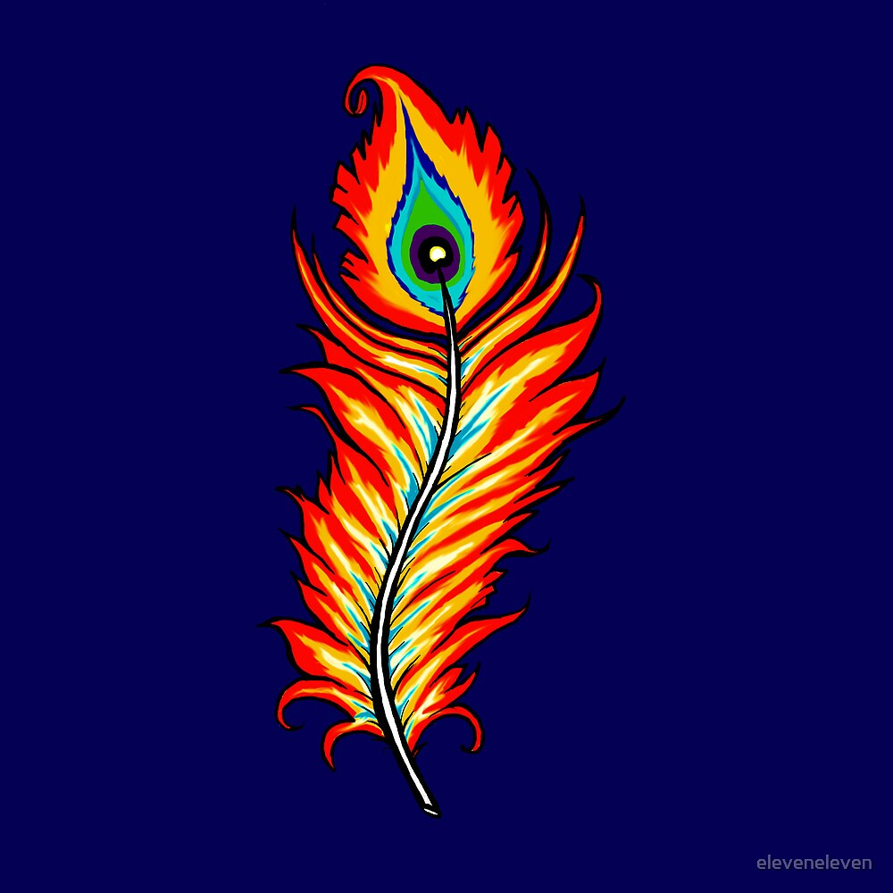 Phoenix Feather by eleveneleven