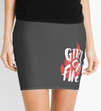 The Girl On Fire Mini Skirt