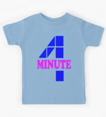 ㋡♥♫Hot Fabulous K-Pop Girl Group-4Minute Clothing & Stickers♪♥㋡ Kids Tee