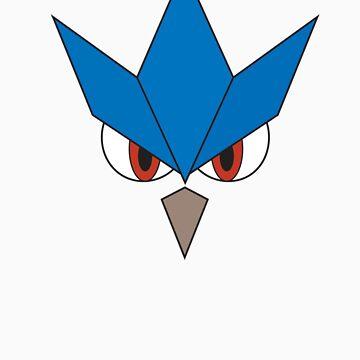 Pokemon - Articuno Face by JamezyJohnson