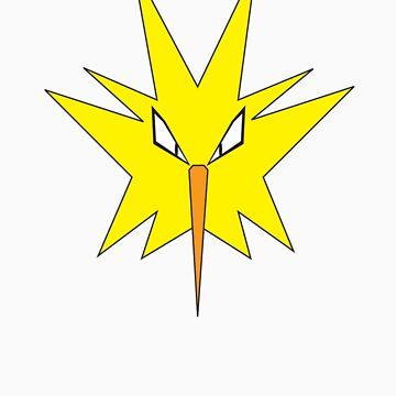 Pokemon - Zapdos by JamezyJohnson