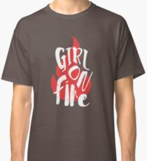 The Girl On Fire Classic T-Shirt