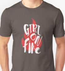 The Girl On Fire Unisex T-Shirt
