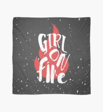 The Girl On Fire Scarf