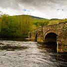 Cymer Bridge North Wales by mlphoto